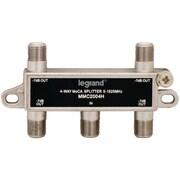 Legrand NUVVM2204V1 Moca  Horizontal 4-Way Splitter