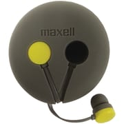 MAXELL MXL190605 Wrap'd Earbuds with Microphone and Case