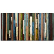 Omax Decor 'Vertical Collage' Painting on Canvas
