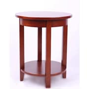 Alaterre Shaker Cottage End Table; Cherry
