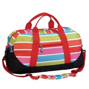Wildkin Ashley Bright Stripes Overnighter Duffel Bag