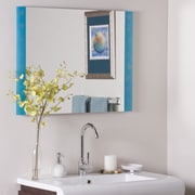 Decor Wonderland Resto Frameless Wall Mirror