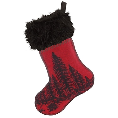 Wooded River Wooded River Bear Christmas Stocking