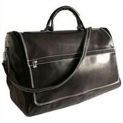 Floto Imports Taormina 21'' Leather Travel Duffel; Black