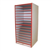 Mahar Creative Colors Large Drawing Storage Unit; Red