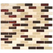 Smart Tiles Mosa k 10.25'' x 9.13'' Mosaic Tile in Murano Sienna