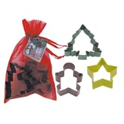 R & M International Corp. 3 Piece Christmas Cookie Cutter Set In Bag