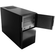 Eagle Tech Nanoxia Deep Silence 4 Mini Tower Case Fits Micro-ATX Motherboard; Black