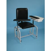 Brandt Industries Upholstered Blood Drawing Chair w/ Drawer