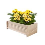 Greenes Fence Rectangular Planter Box; 7'' H x 24'' W x 11'' D