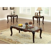 Hokku Designs Mariann 3 Piece Coffee Table Set