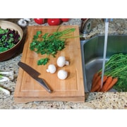 Lipper Bamboo Over-The-Sink/Stove Cutting Board Large