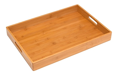 Lipper Bamboo Serving Tray, Bamboo 1968941