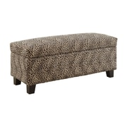 Woodhaven Hill Clair Upholstered Storage Entryway Bench