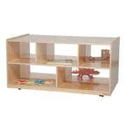 Wood Designs Natural Environment 24'' Double Storage Island