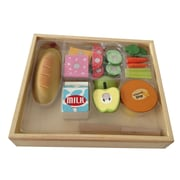 Berry Toys 17 Piece Casual Wooden Play Food Set