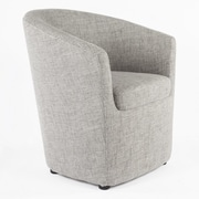 Control Brand Tykby Lounge Chair; Gray