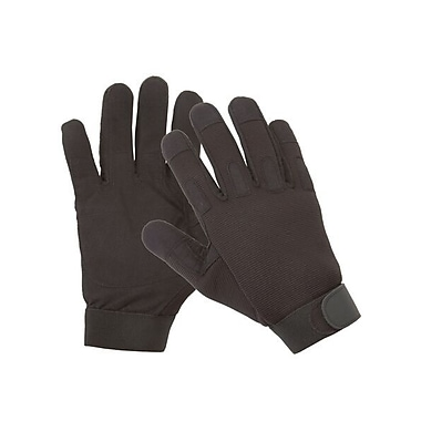 Northern Gloves Professional Mechanics Glove, XL, Black, Synthetic with Reinforced Palm