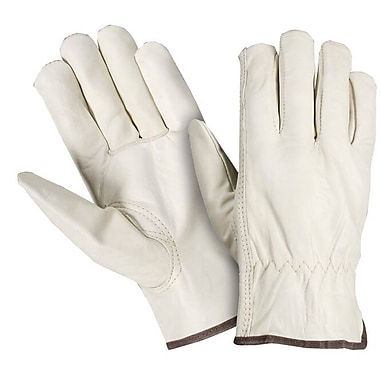 Northern Gloves Premium Leather Drivers Gloves, Small, Natural Leather