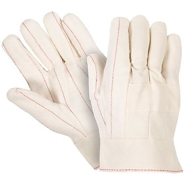 Northern Gloves – Gant en coton Hot Mill de poids moyen, très grand, naturel