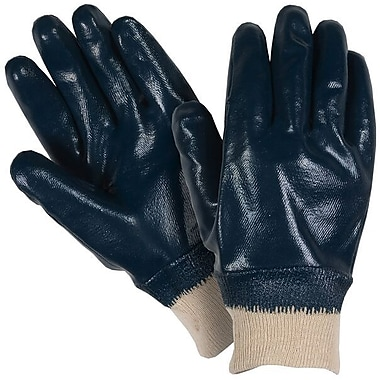 Northern Gloves Fully Coated Nitrile Glove, Large/XL, Blue