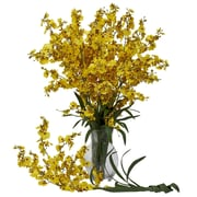 Nearly Natural Dancing Lady in Yellow (Set of 12)