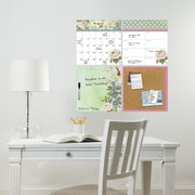 Brewster Home Fashions WallPops Vintage Bazaar 4 Piece Organizer Whiteboard Wall Decal Set