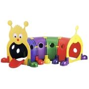 ECR4Kids ''Gus'' Four Section Climb-n-Crawl Caterpillar Tunnel Playground