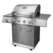 Dyna-Glo 4-Burner 52,000-BTU Gas BBQ Grill w/ Side Burner and Electronic Pulse Ignition