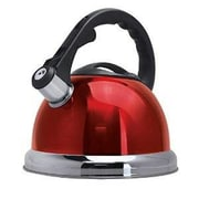 ROYAL COOK 3.17-qt Whistling Tea Kettle; Red
