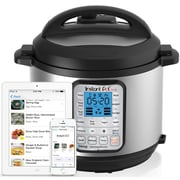 Instant Pot 6-Quart Smart Blue-Tooth Enabled Multi-Functional Pressure Cooker