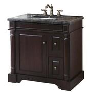 Crawford & Burke Hancock 35'' Vanity Set Wood Base with Mosaic Top & Sink