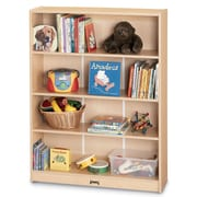 Jonti-Craft MapleWave  59.5'' Bookcase; 35.5'' H x 36.5'' W x 11.5'' D