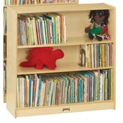 Jonti-Craft Bookcase; 48'' H x 36.5'' W x 11.5'' D