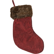 Selections by Chaumont Faux Mink Fur Cuff Stocking