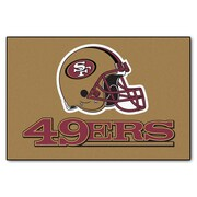 FANMATS NFL - San Francisco 49ers Tailgater Mat; 1'8'' x 2'6''