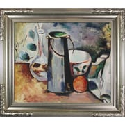 Tori Home Water Pitcher and Decanteur by Paul Cezanne Framed Original Painting