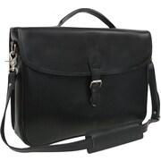 AmeriLeather Montana Leather Laptop Executive Briefcase; Black