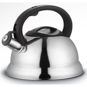 ROYAL COOK 3.17-qt Whistling Tea Kettle; Silver