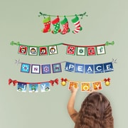 Mona Melisa Designs Winter Holidays Signs Wall Decal Set