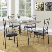 Dorel Living Shelby 5 Piece Dining Set