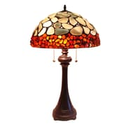 Fine Art Lighting Cobble Stone 29'' H Table Lamp with Bowl Shade