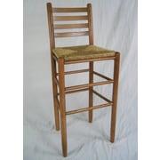 Dixie Seating Carolina 30'' Bar Stool; Medium Oak