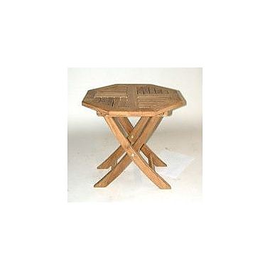 Regal Teak Folding Side Table