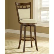 Hillsdale Jefferson 24'' Swivel Bar Stool with Cushion