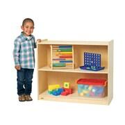 Angeles Value Line Birch Two-Shelf Storage