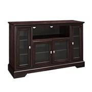 "Walker Edison 52"" Wood Highboy TV Stand, Espresso (SP52C32ES)"