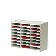 Paperflow Master Literature Organizer w/ 24 Compartments