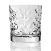 Lorren Home Trends Laurus RCR Crystal Double Old Fashioned Glass (Set of 6)
