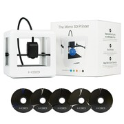 M3D Micro 3D Printer Starter Kit, White